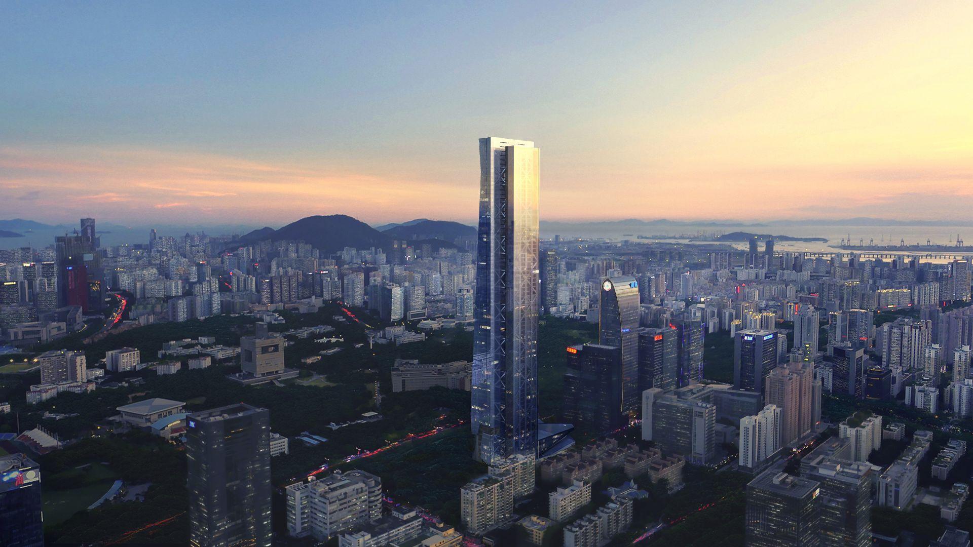 国内最高全钢结构建筑汉京金融中心项目通过竣工验收