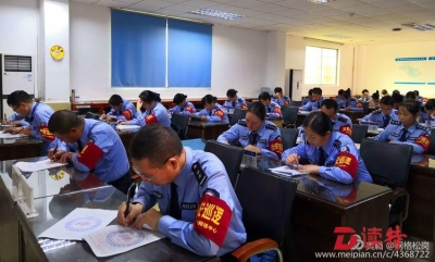松岗全员大考试全方位提升网格巡查能力