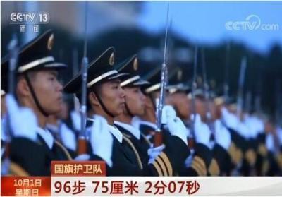 """探访天安门国旗护卫队 """"96步 75厘米""""意味着什么?"""