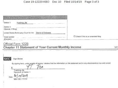 贾跃亭最新收入状况:申请个人破产前半年月入93810美元
