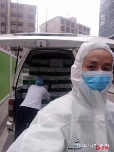 华润怡宝第一批捐赠饮用水送达武汉多家医院