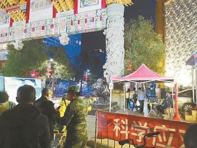 深圳影像志 | 夜幕下的牌楼