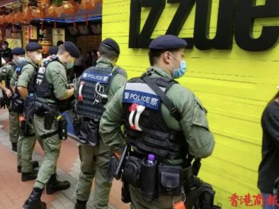 香港今再现非法集结 至少60人被拘