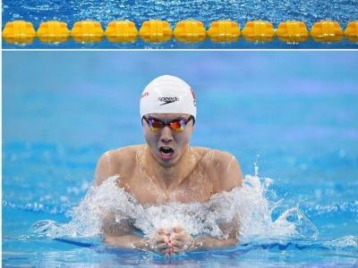 徐嘉余张雨霏等人打破男女4×100米混合泳接力世界纪录