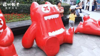深圳科技生活展来了!一群魔鬼猫涌入华强北