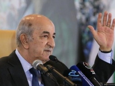 阿尔及利亚总统特本完成新冠治疗