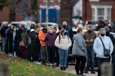 利物浦启动英国首个新冠全城检测,50万人将接受检测
