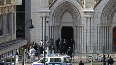 法国尼斯袭击案嫌犯确诊感染新冠病毒,多名警察需接受检测