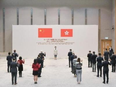 终于,香港公务员宣誓了!