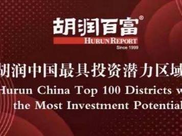 (重)《2020胡润中国最具投资潜力区域百强榜》出炉, 龙岗位居第二