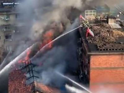 南昌百花洲小学发生火灾,师生已紧急疏散