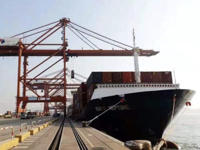 亚洲区域内航线CLX全新升级后首靠大铲湾码头