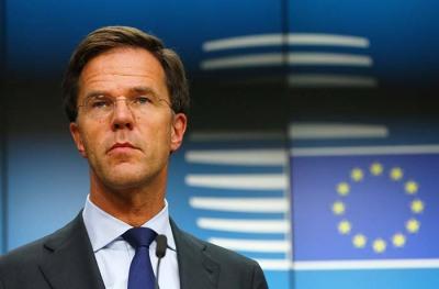 荷兰首相吕特宣布他所领导的内阁正式辞职