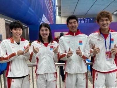 3分38秒41!泳联确认中国男女混接世界纪录