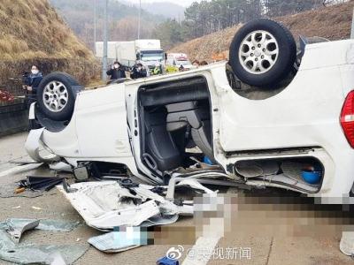 韩国高速路车祸4名受伤中国公民情况稳定,1人出院