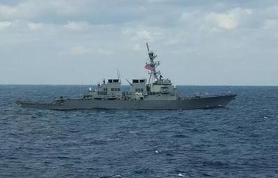 美舰穿航台湾海峡 东部战区:全程跟踪监视
