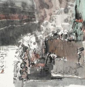 关山月美术馆创作院作品展开展