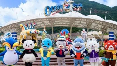 香港海洋公园、迪士尼乐园今明相继重开