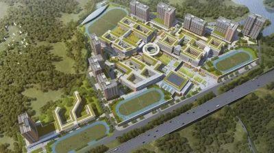 提供8100个学位!深圳在建的这个高中园明年五月交付使用