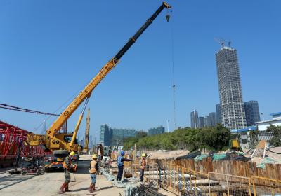 深圳滨海大道交通综合改造工程项目  吹响复工复产集结号