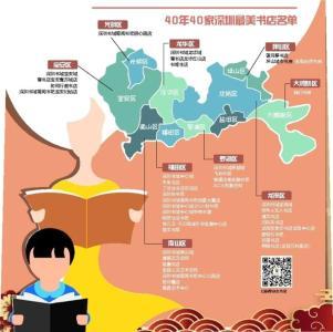 爱阅之城送你一份新春贺礼 40家深圳最美书店地图快收藏