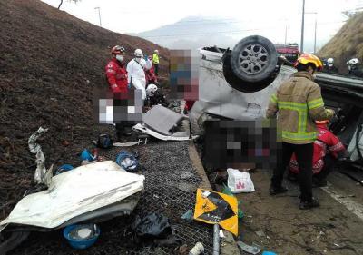 突发!韩国一高速路段发生严重车祸 致10名中国公民死伤