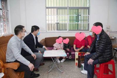 圳在你身边,温暖在心间丨坪山区群团工作部(团区委)开展困难青少年新春慰问活动
