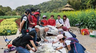 22名残疾人艺术家走出家门,记录广州美好春日