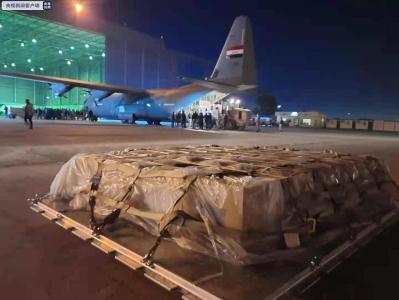 中国援助伊拉克的新冠疫苗运抵巴格达