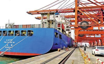 """大铲湾码头贸易服务""""加码""""  岸电供电达到预期效果"""