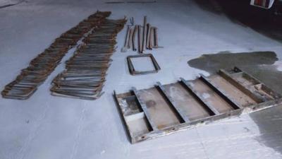抓获7名盗销嫌犯!珠海香洲警方破获工地钢材被盗系列案件