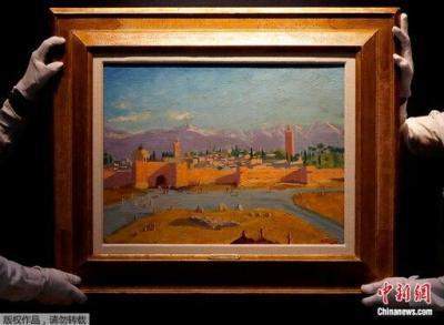 """700万英镑成交!""""丘吉尔最重要画作""""在伦敦拍出"""