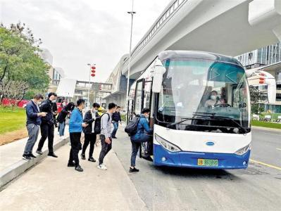 """""""招商科技园区-凤凰城地铁站""""往返交通接驳巴士开通运行"""