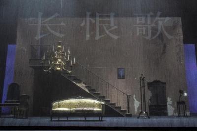经典呈现   上海繁华旧梦,四十年锦绣烟尘——上海话剧艺术中心经典作品《长恨歌》