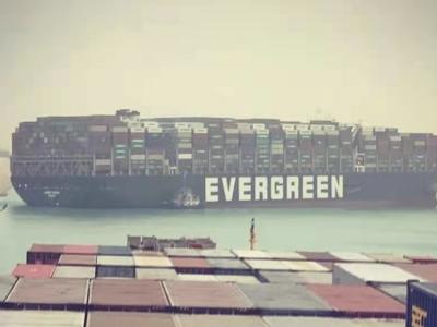 """曾停靠盐田港的货轮搁浅苏伊士运河,""""堵塞""""全球供应链!该如何应对?"""