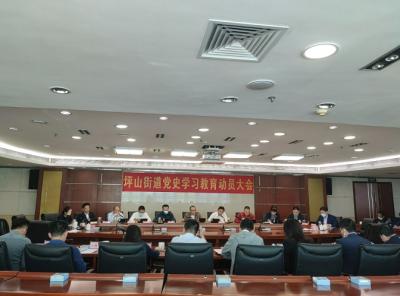 坪山街道召开党史学习教育动员大会