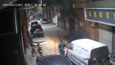 嫌私家车挡道妨碍充电 龙华一新能源车司机划车泄愤被刑拘