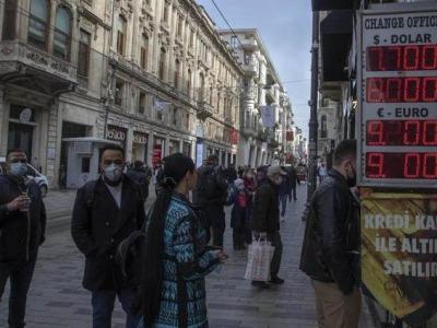 再次熔断!土耳其股市开盘跌5.4%,两天内触发三次熔断