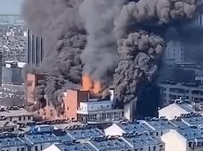 安徽一商场失火致4死事故原因公布:系拆扶梯时火花点燃垃圾