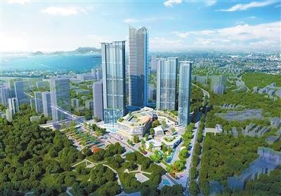 """珠海""""城市之心""""项目开工 核心区预计4年后建成"""