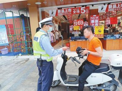深圳交警创新电动自行车治理理念 文明骑行渐成城市移动风景