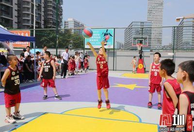 小篮球大梦想!龙岗区小篮球嘉年华欢乐开启 24支队伍角逐