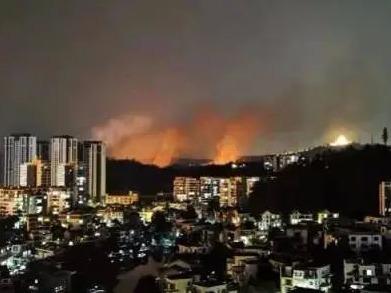 广东突发数起山火,大多因清明祭祖引发,多人被刑拘