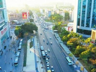 深圳福田巧解超大型城市中心交通拥堵难题