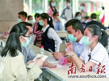 广州多所高中举行校园开放日活动