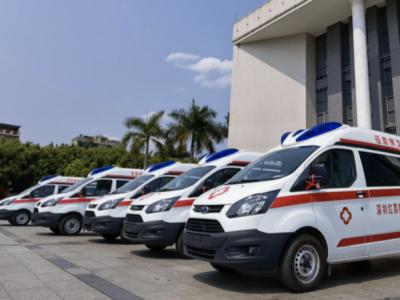 红荔慈善基金会向兴宁捐赠救护车和医疗设备,企业家7年捐赠超过1.85亿元