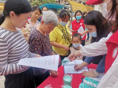 塘尾社区持续宣传疫情防控知识积极维护居民身体健康