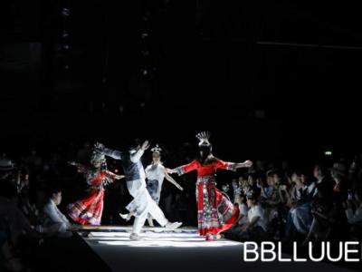 BBLLUUEE粉蓝时尚艺术跨界秀闪耀深圳时装周