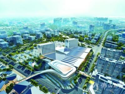 佛山西站枢纽新城:牵手深圳国际会展中心,创湾区协作标杆