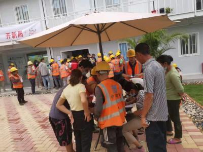 马田街道全力推进在建工地疫苗接种工作